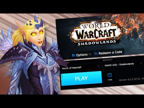 Shadowlands On Blizzard Launcher! More 8.3 Updates! - WoW: Battle For Azeroth 8.2