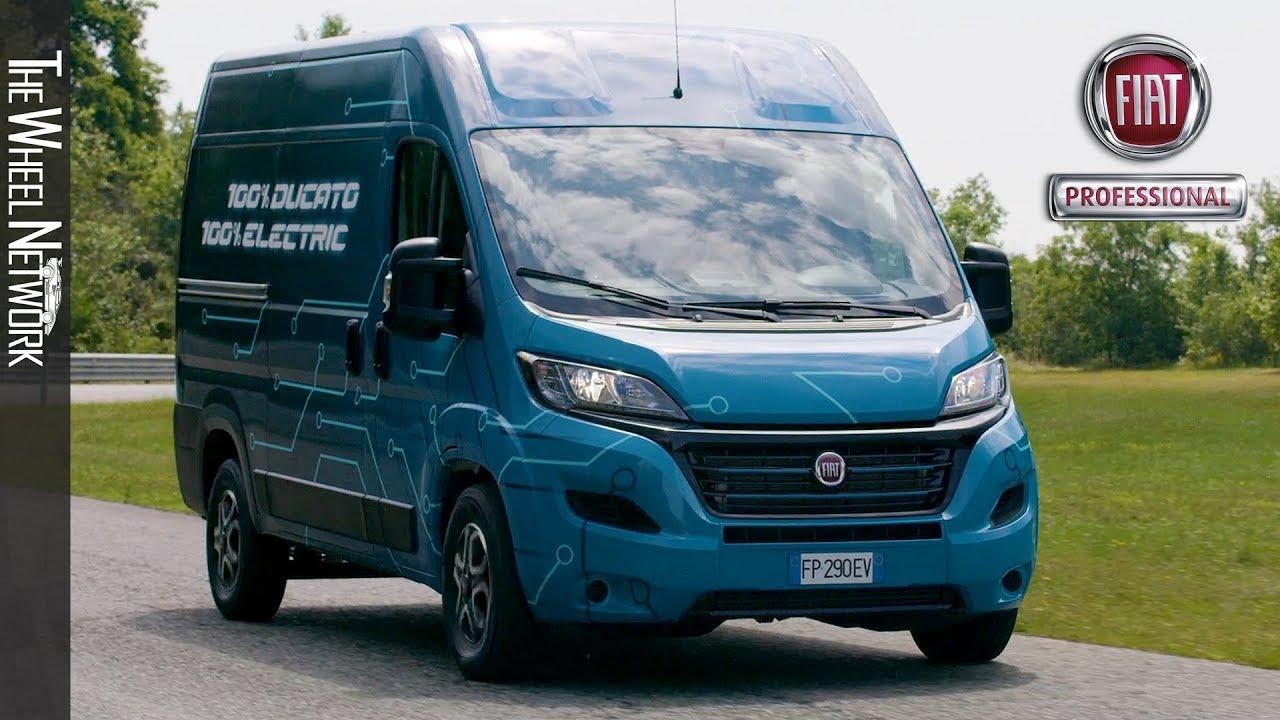 2020 Fiat Ducato Electric Youtube