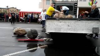 Клецк,силовой экстрим,2 июля,погрузка камней,Никита Нижник