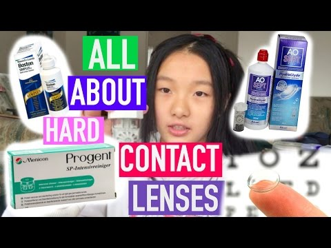ALL ABOUT HARD CONTACT LENSES- AO SEPT, BOSTON SIMPLUS