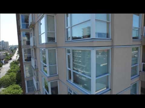 High Rise Building Inspection by UAV 2015 in 4K