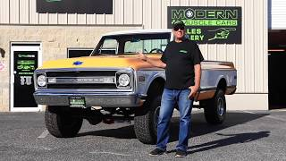 1970 Chevy Cheyenne K10 4x4 Truck For Sale - Modern Muscle Cars