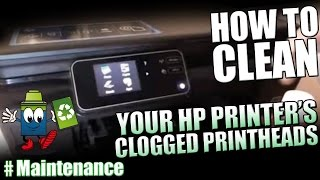 how to clean your hp printer s clogged printheads