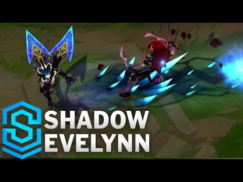 Shadow Evelynn (2017) Skin Spotlight - League of Legends