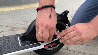 Как отрегулировать задний тормоз?