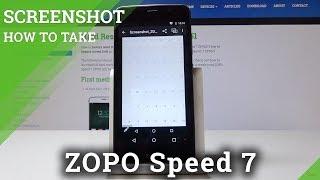 How to Take Screenshot in ZOPO Speed 7 - Locate Screenshot Folder