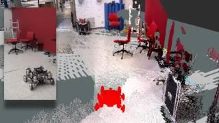 Robot Mapping using Laser and Kinect-like Sensor