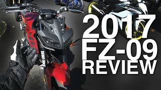 Riding a 2017 FZ-09 And Almost Orgasming