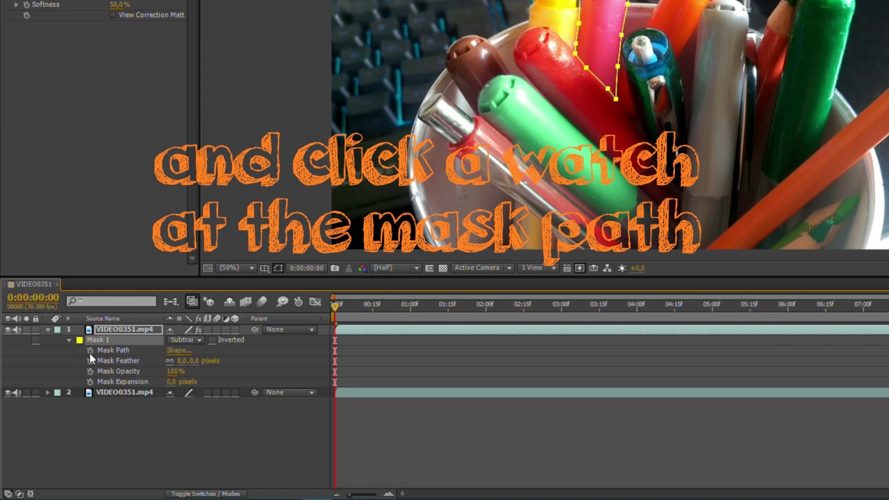 Changing Color Of Object,background Or Sky  In After Effects *easy*