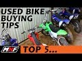 Top 5 Tips on Buying a Used Dirt Bike - What Things to Look For (Save Time, Save $$$)
