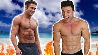So extrem hat Zac Efron für Baywatch trainiert   Meine Reaktion auf seinen Trainingsplan und Diät