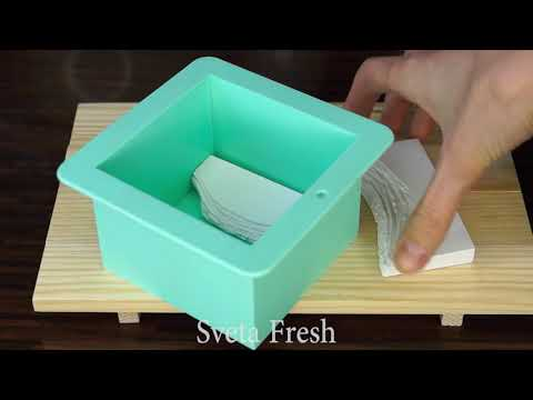 GYPSUM + EPOXY RESIN How to Make a Resin River Table Using Clear Epoxy Resin