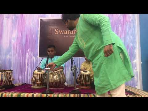 Aditya Rawool and Akash Rawool at Swaranand Kala Pratishthan Annual Concert 2018