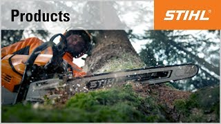 I for injection: the STIHL MS 500i chainsaw