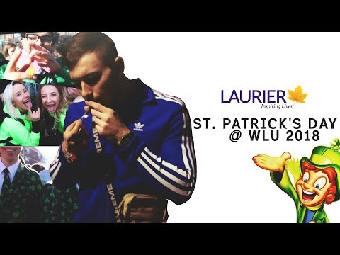 ST. PATRICK'S DAY @ WILFRID LAURIER UNIVERSITY 2018