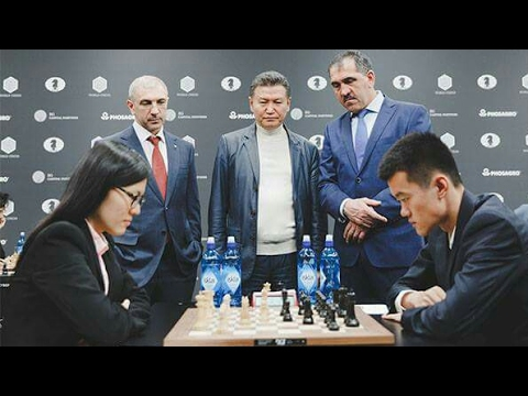 MOSCOW GRAND PRIX 2017 | Hou Yifan Loses to Ding Liren | Round 3