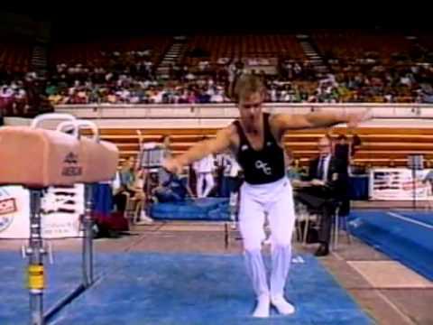Kurt Thomas - Pommel Horse - 1992 Phar-Mor U.S. Championships - Men