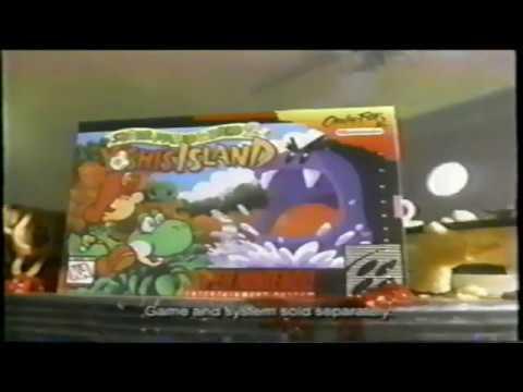 Super Mario World 2 - Yoshi's Island Commercial