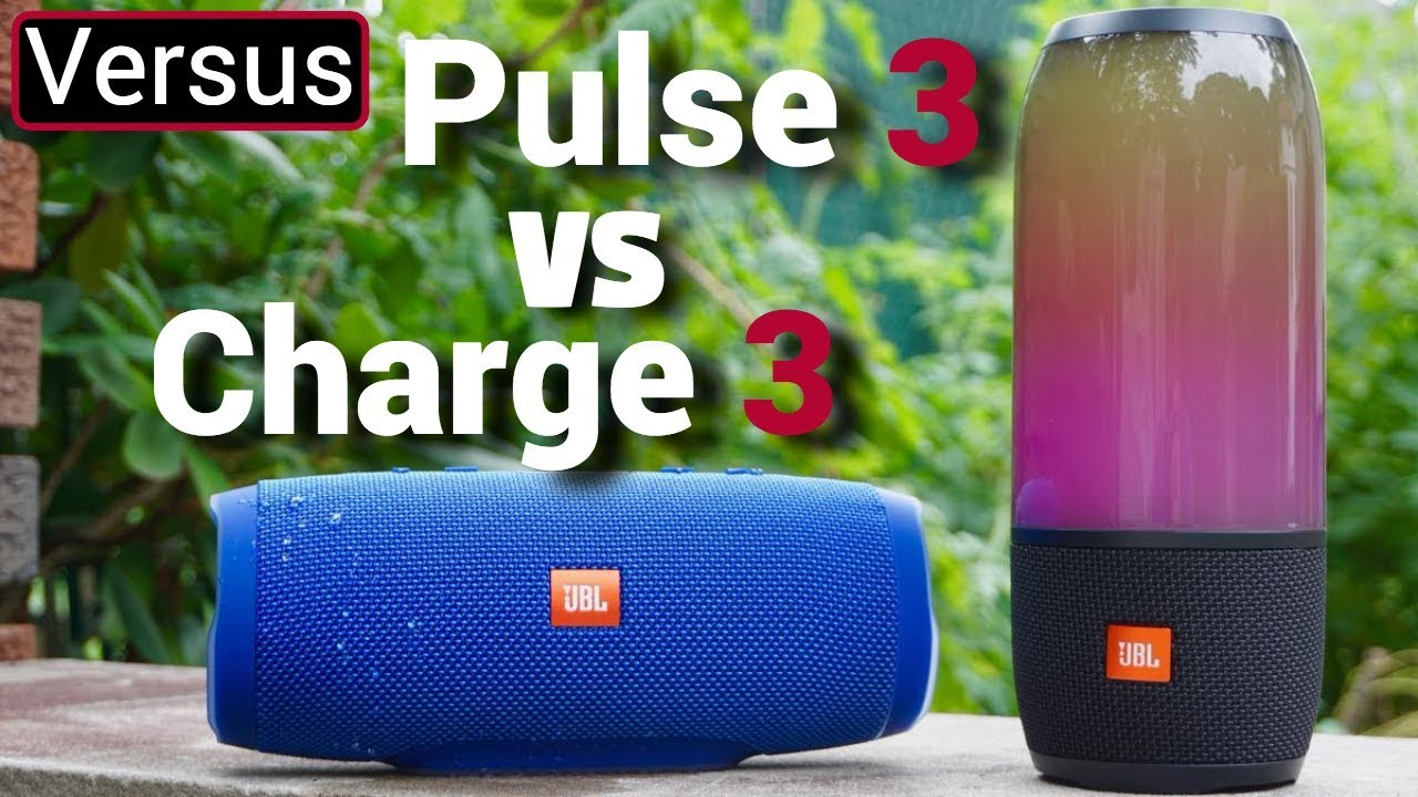 JBL Pulse 3 Vs JBL Charge 3 — GYMCADDY