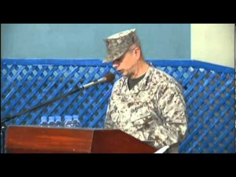 ISAF Change of Command Ceremony