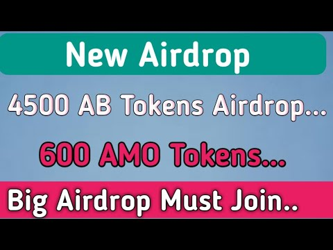 Accounting Blockchain Airdrop Join and Get 4500 AB and 600 AMO Tokens!