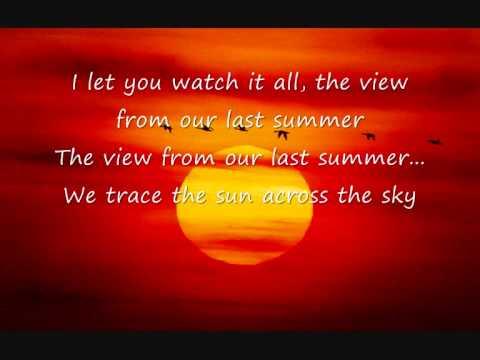 lostprophets -last summer lyrics
