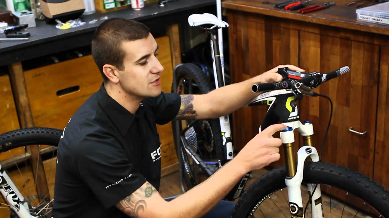 How To Set And Maintain Mountain Bike Forks With Fox Racing Shox