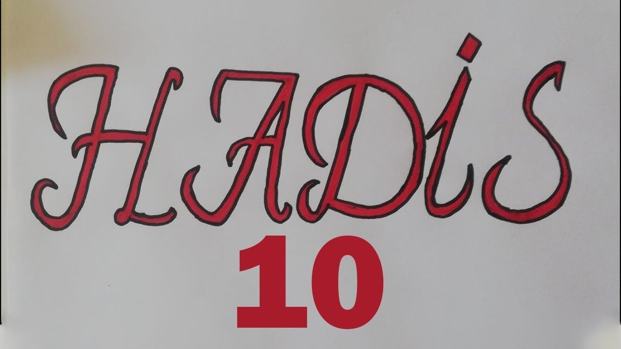 74 - 2020 ÖABT DKAB - İHL DERS VİDEOLARI - HADİS 10 - KONU ANLATIMI