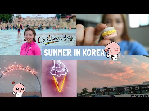 SUMMER IN KOREA VLOG: CARIBBEAN BAY, GANGNAM DINNER, HAN RIVER RAMEN ETC.