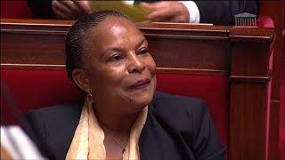 Taubira fait rire l'Assemblée en ironisant sur Ciotti