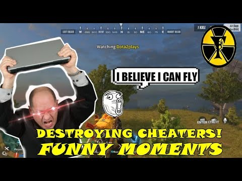 DESTROYING CHEATERS   | RULES OF SURVIVAL FUNNY MOMENTS | RULES OF SURVIVAL PH | WTF MOMENTS