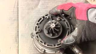How a VNT turbo works with diassembly and DIY repair of sticking vanes