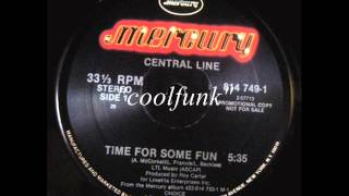 """Download Central Line - Time For Some Fun (12"""" Brit-Funk 1983)"""