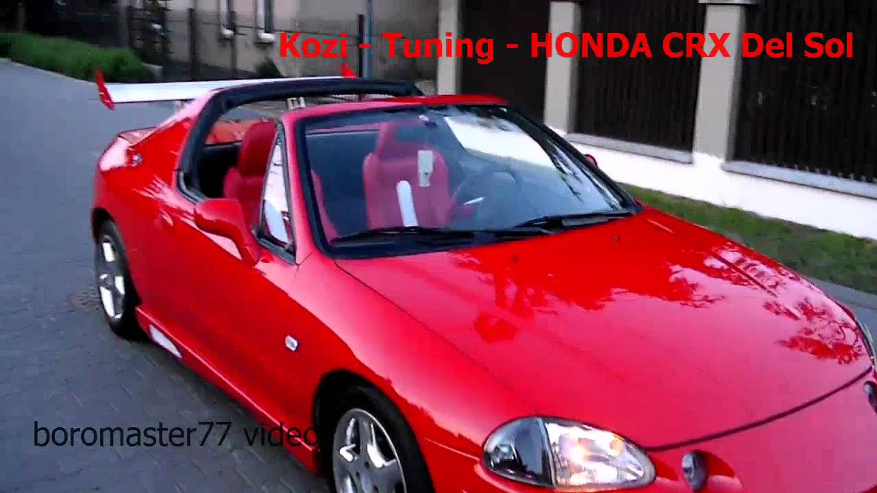 honda crx del sol tuning kozi youtube. Black Bedroom Furniture Sets. Home Design Ideas