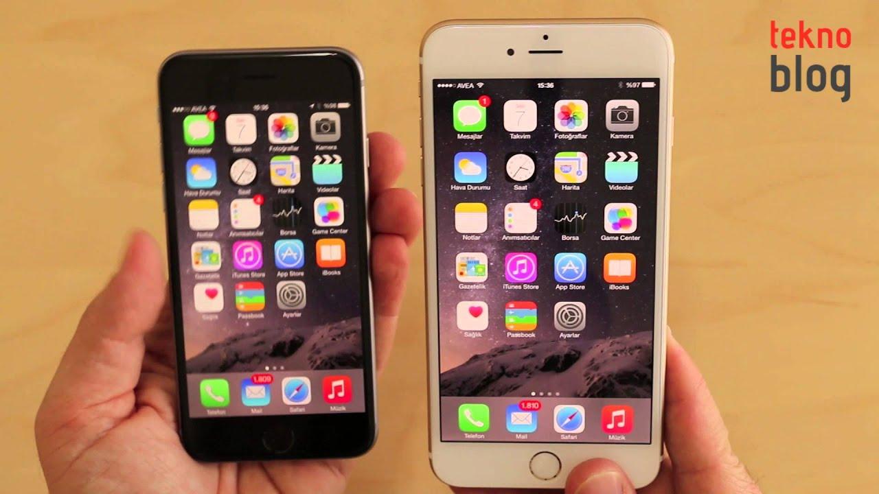 iPhone 6 Plus İncelemesi - YouTube