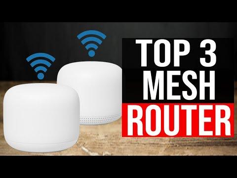 TOP 3: Best Mesh WiFi Router 2021