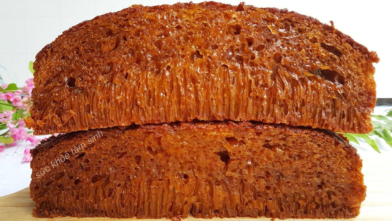 Cách làm bánh bò nướng đường thốt nốt theo kiểu người nước ngoài