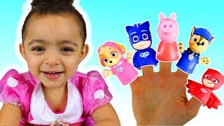 Finger Family Song   Nursery Rhymes for Kids Song with Leah