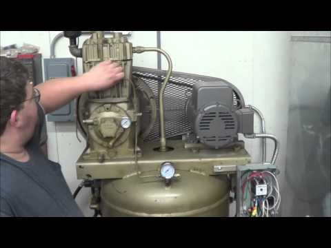 Motor Soft Start Control On A Quincy 325 Compressor