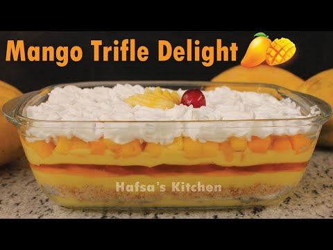 mango-trifle-delight-recipe-|-quick-and-easy-mango-trifle-delight-|-dessert-recipes
