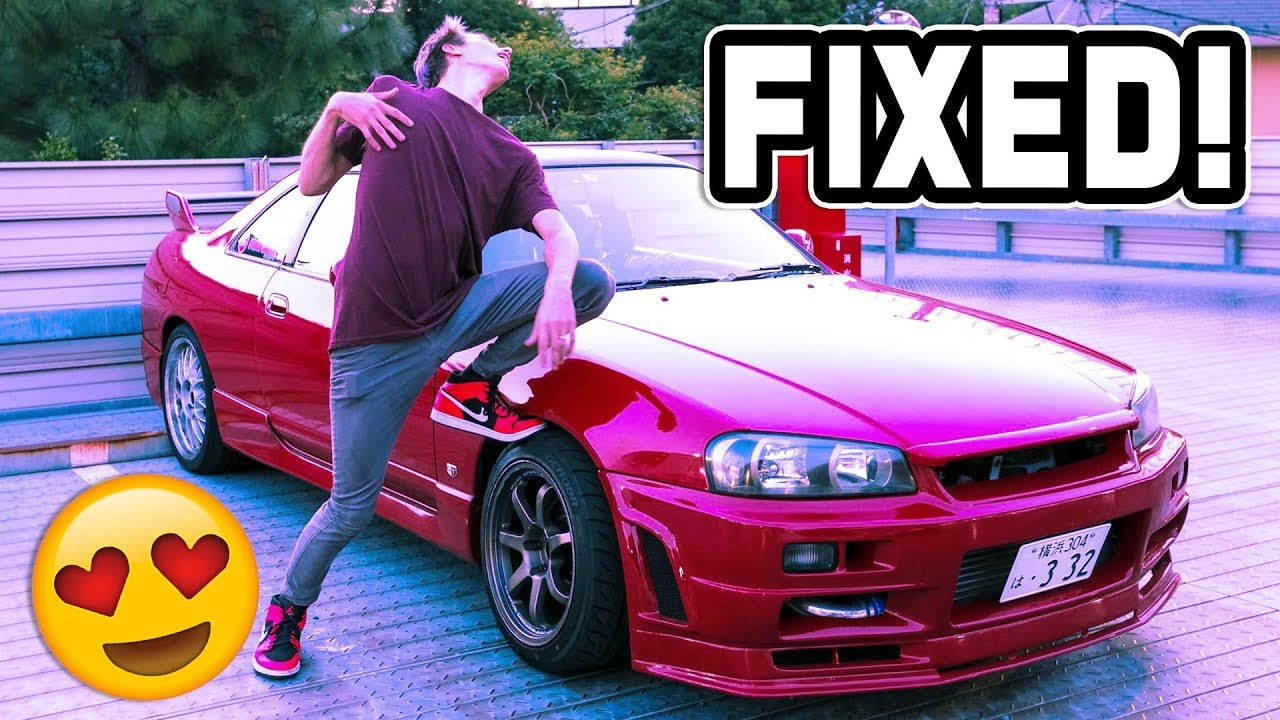 SKYLINE IS FIXED! - NO MORE TURBO LAG!