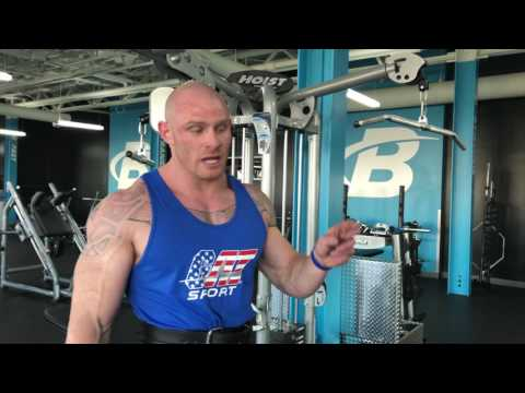 Training with the Freak at Bodybuilding.com