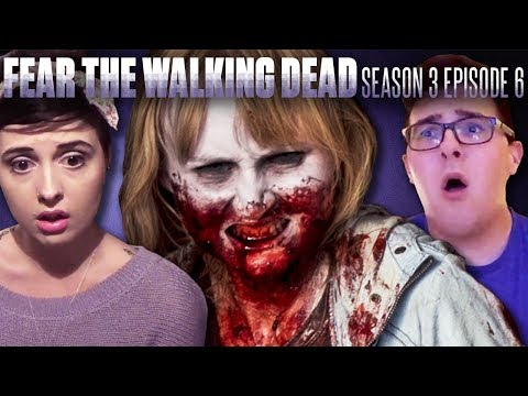 "Fear the Walking Dead: Season 3 Episode 6 ""Red Dirt"" - Fan Reaction Compilation!"