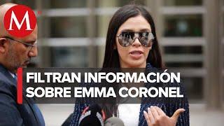 Filtrar información de Emma Coronel pone en riesgo a su familia, acusa su abogado