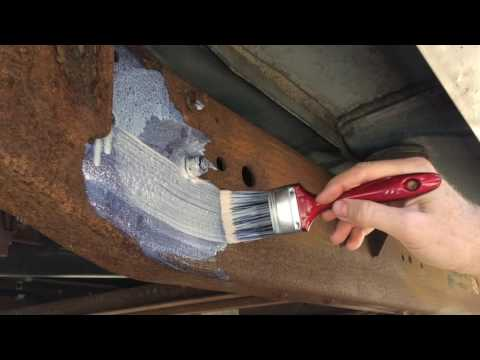 How To Paint Rusty Metal