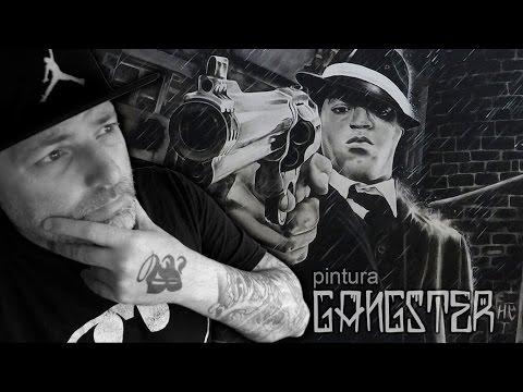 Desenho Gangster (Jefferson Bastos)