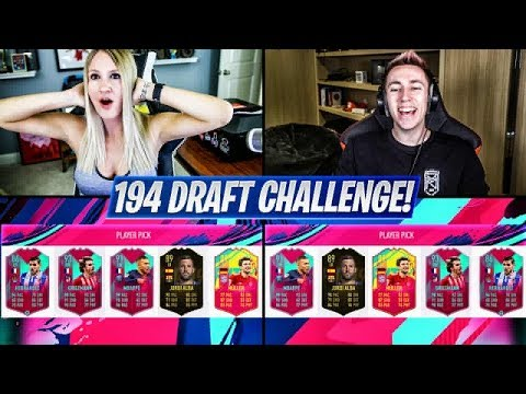 194 RATED FUT DRAFT CHALLENGE vs MINIMINTER!! FIFA 19 Ultimate Team