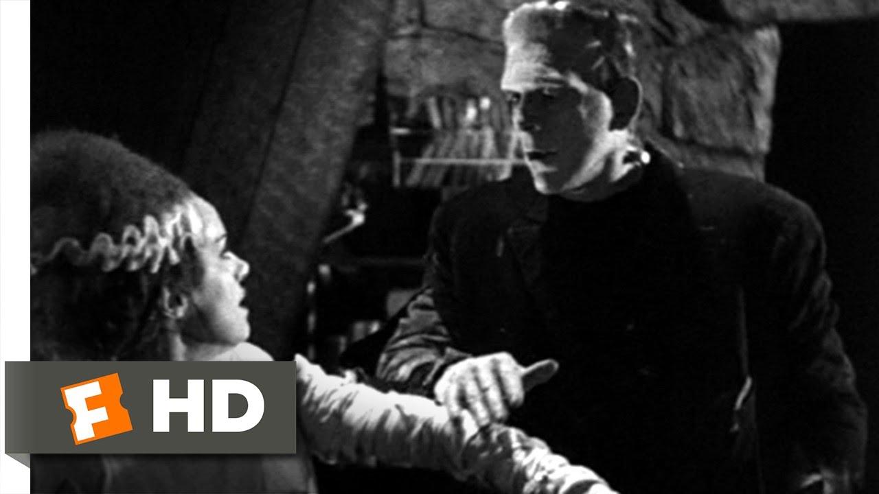 Download The Monster Meets His Bride - Bride of Frankenstein (10/10) Movie CLIP (1935) HD