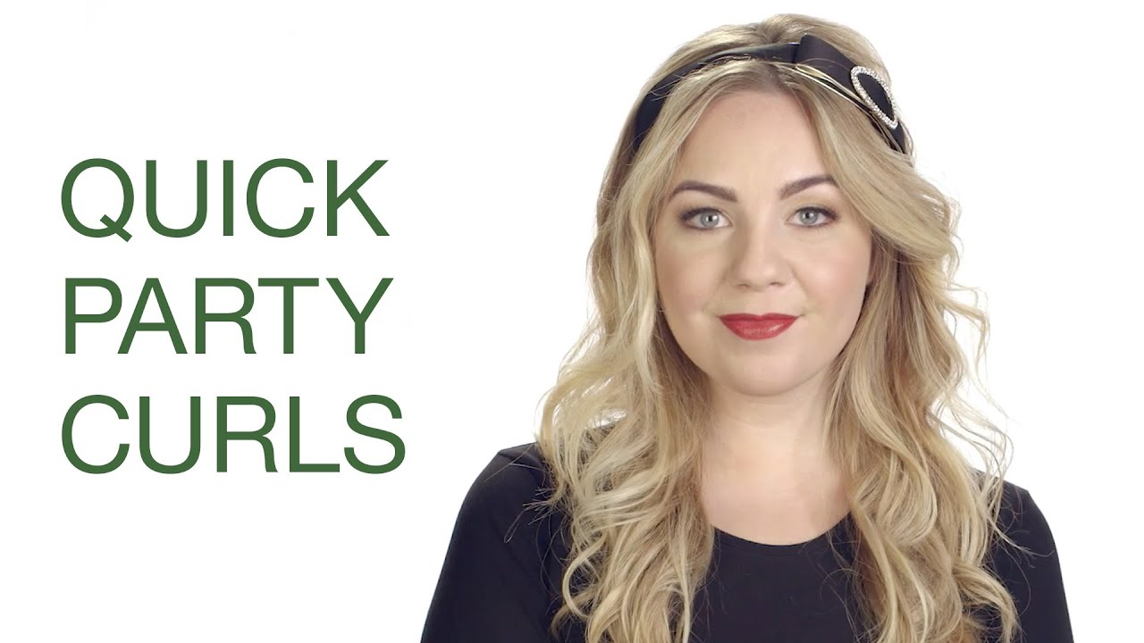 Quick Party Ready Curls Hair Tutorial | Ulta Beauty - YouTube