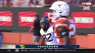 West Virginia vs Texas Football Highlights